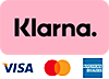 Klarna PaymentBadge Pink w cards